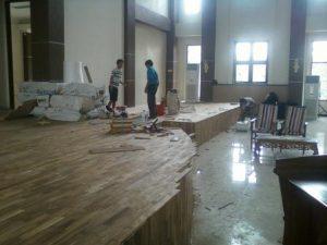 Perbaikan lantai kayu yang rusak