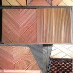 jual lantai kayu outdoor Rp 50rb