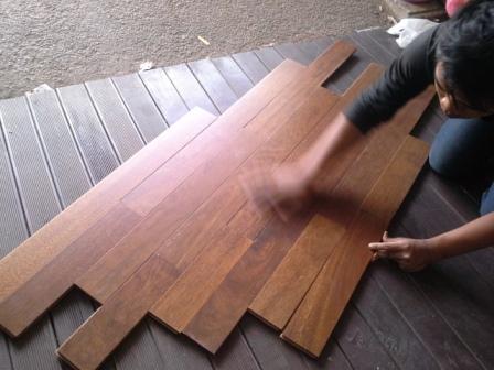 keramik kayu