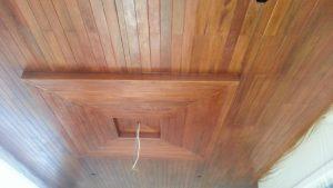 plafond kayu bengkirai