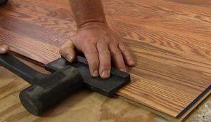 lantai kayu laminated instalasi