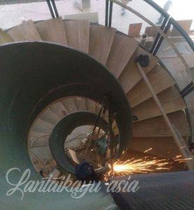 papan tangga kayu 1