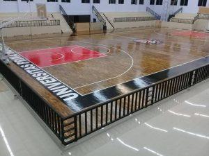 lantai kayu basket gmc