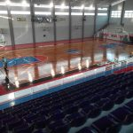 lantai parket arena basket