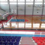 Pemasangan Lantai Kayu Jati di GMC Cirebon | Basket Arena