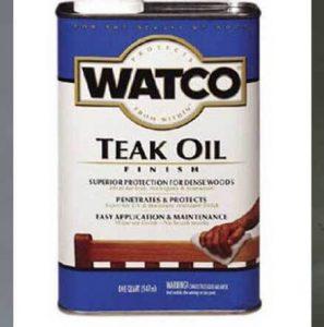 finishing kayu teak oil