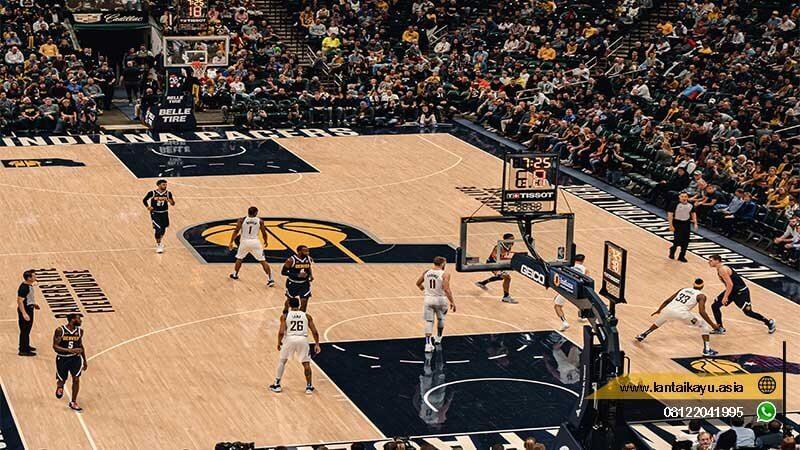 jenis lantai untuk lapangan basket