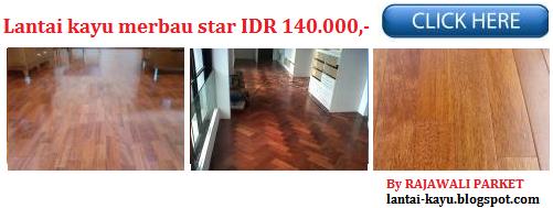 proyek lantai kayu di Banten