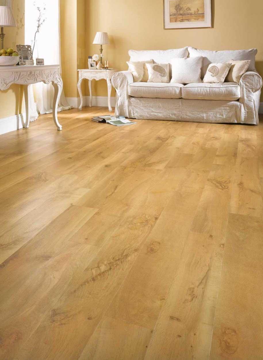 Contoh parket flooring plank