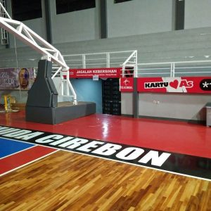 lantai kayu gmc arena