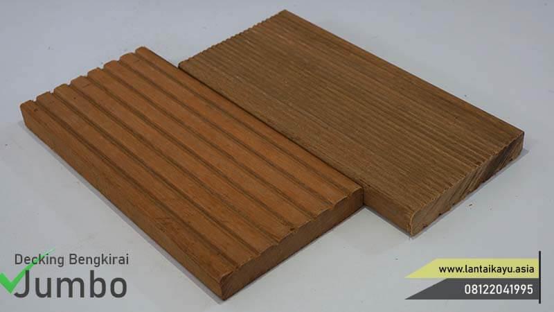 Harga lantai kayu Outdoor bengkirai jumbo
