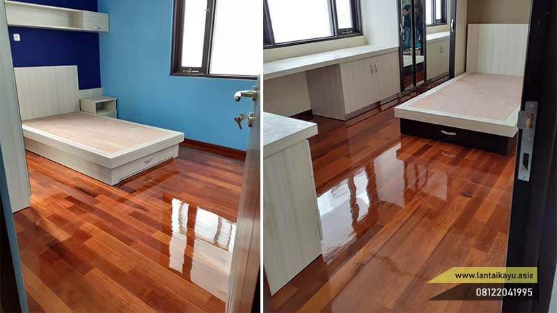 tips memilih lantai kayu kamar