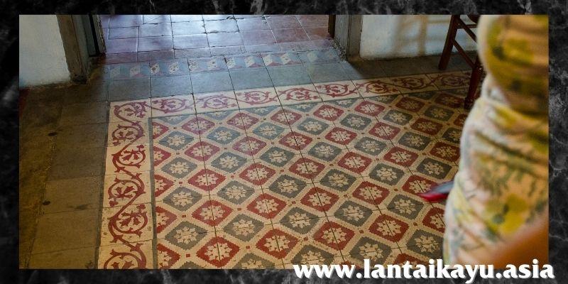 jenis lantai terbaik - lantai tegel