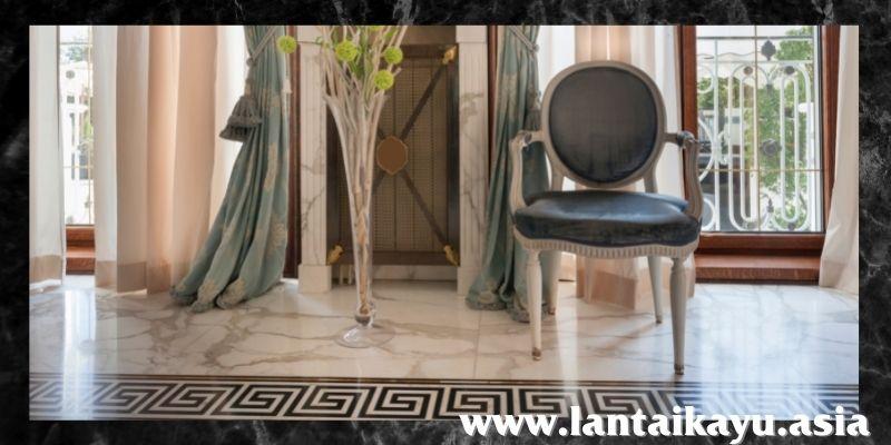 jenis lantai terbaik - lantai marmer