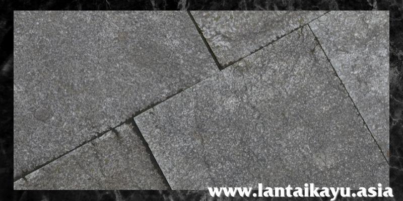 jenis lantai terbaik - lantai batu