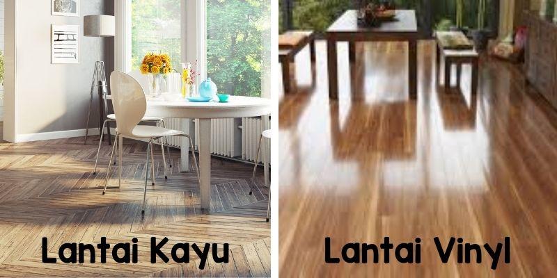 perbandingan lantai kayu dan lantai vinyl