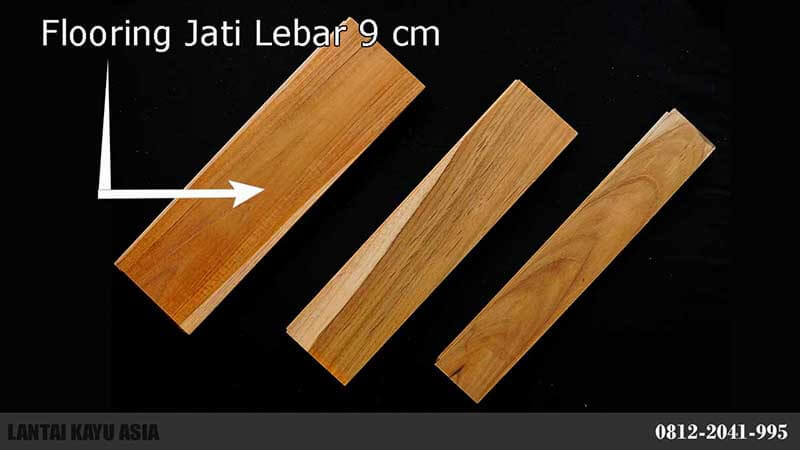 harga lantai flooring kayu jati