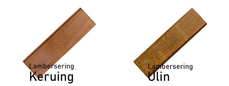 jenis kayu untuk plafon lamberser