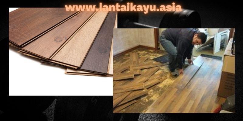 Laminated Flooring (Lantai Laminasi)