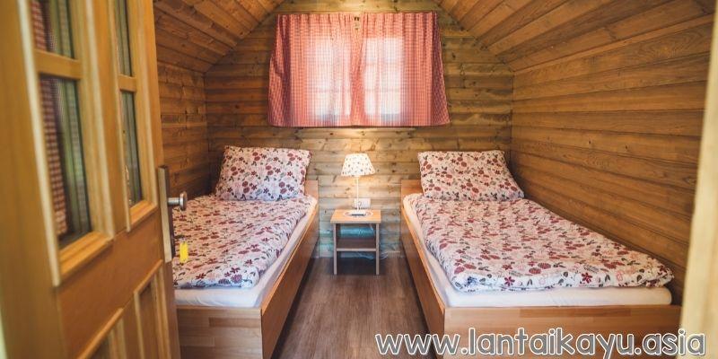 Ruangan kamar tidur untuk kesempurnaan istirahat anda