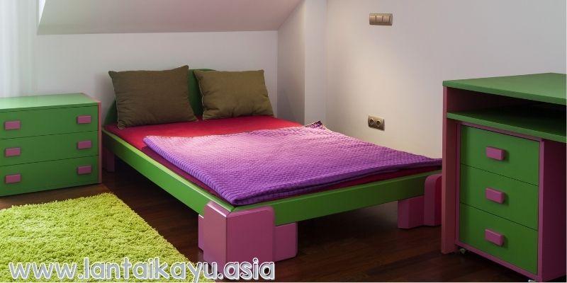 Lantai Di Ruangan kamar tidur anak