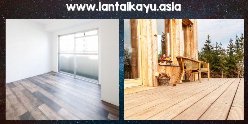 Kelebihan lantai kayu secara Umum