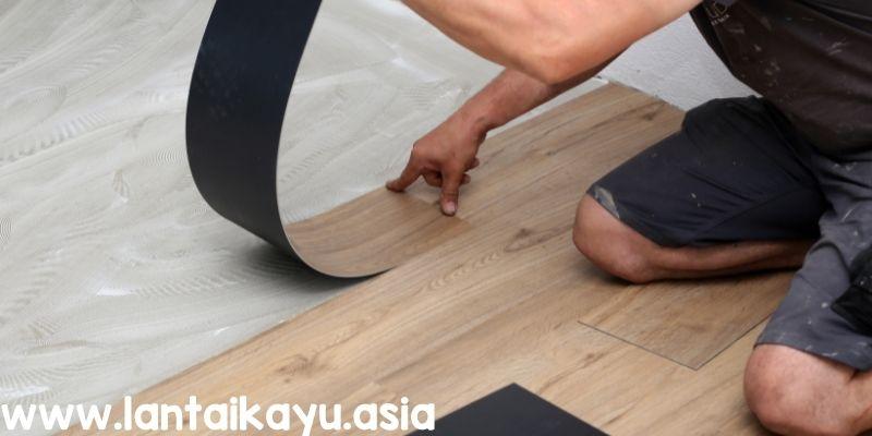 Cara Memasang Lantai Vinyl