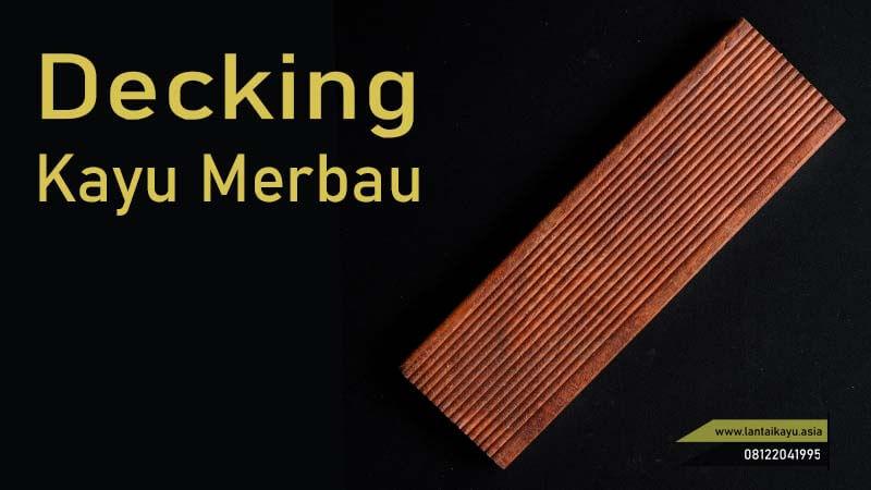 jenis lantai kayu decking Merbau