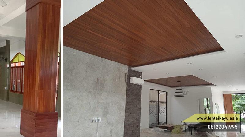 pemasangan lambersering di dinding dan plafon