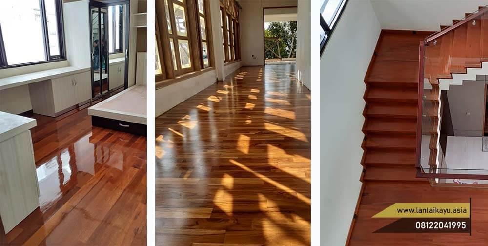 Tips memilih lantai kayu parket yang pas dengan ruangan
