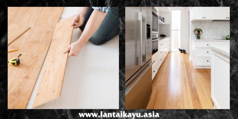 jenis lantai kayu tempel terbaik - lantai laminasi