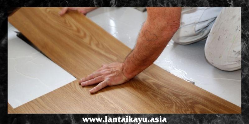 jenis lantai kayu tempel terbaik - lantai SPC