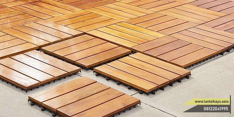 lantai kayu outdoor Decking tile