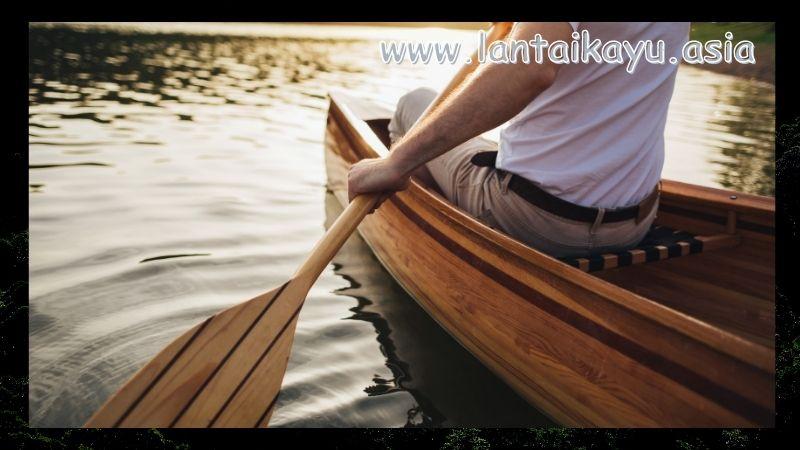 Manfaat Kayu Kenari Untuk Konstruksi - dayung perahu