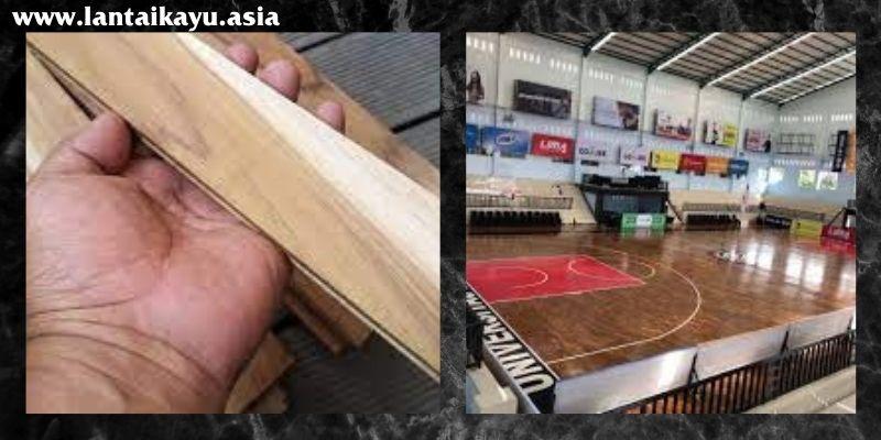 jenis lantai kayu jati yang digunakan - parket jati grade B