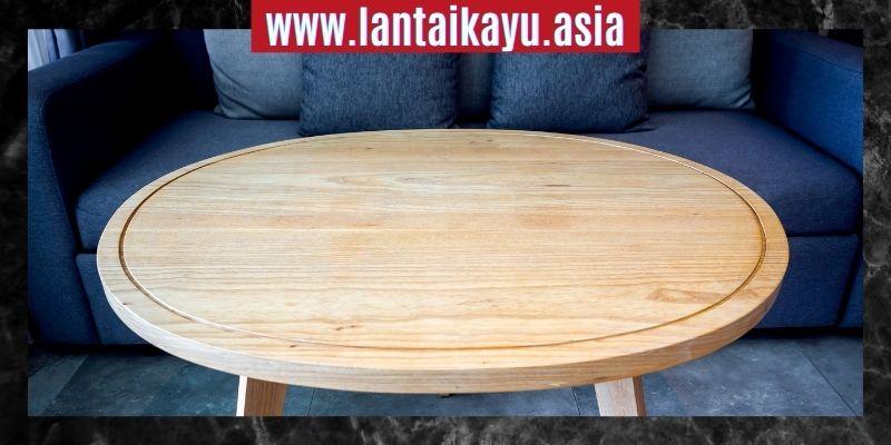 Cara Mendekorasi Rumah Minimalis - hadirkan meja bundar minimalis