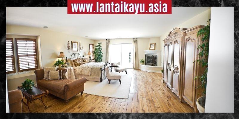 Cara Mendekorasi Rumah Minimalis - gunakan lantai kayu