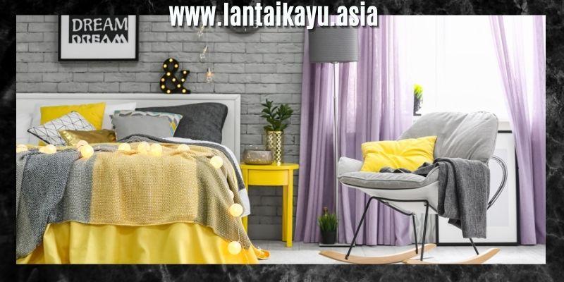 Dekorasi Kamar Tidur Sederhana Dengan Mix & Match Modern