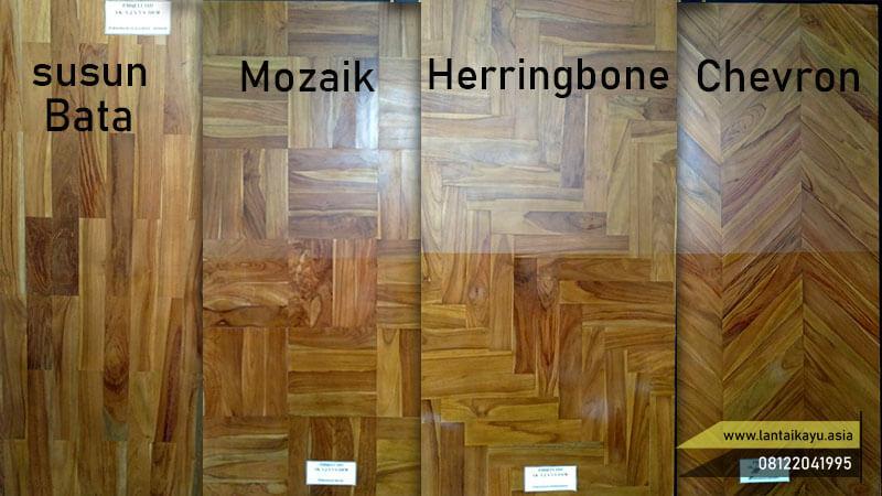 Macam-macam model pasang lantai kayu